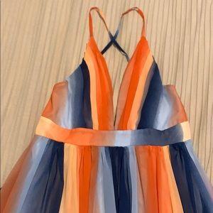 Dresses & Skirts - Maxi dress - orange blue